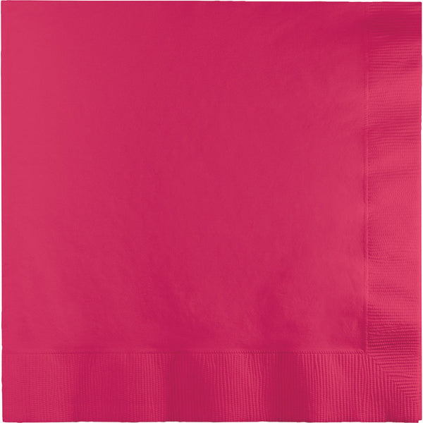 Touch Of Color Ho Magenta Lunch Napkins