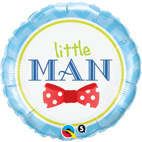 Baby Little Man Bow-Tie  Foil Balloon