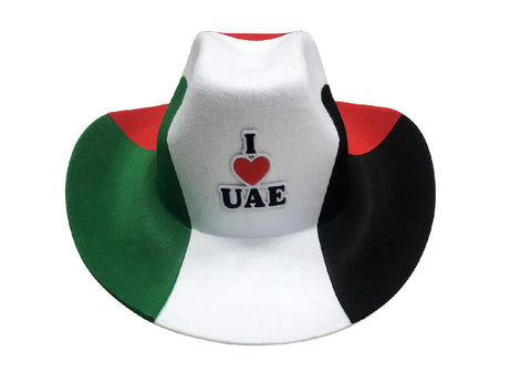 Cowboy Hat I LOVE UAE