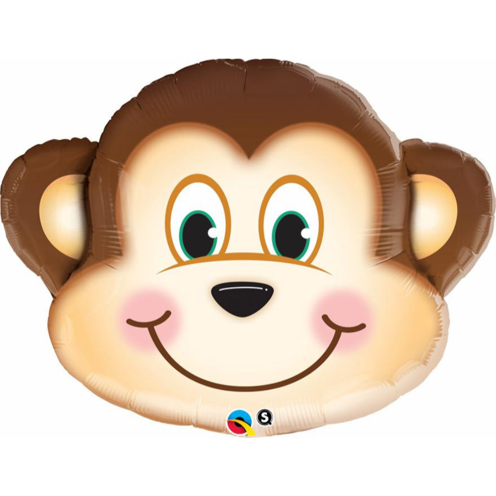 Special Shapes Mischievous Monkey Foil Balloon