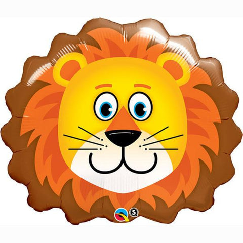 Special Shapes Lovable Lion Foil Balloon
