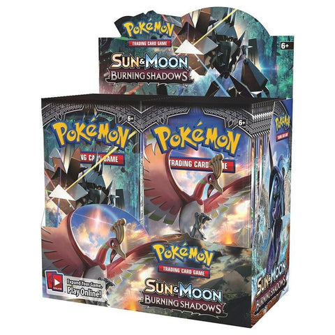 SM3 Burning Shadows Boosters