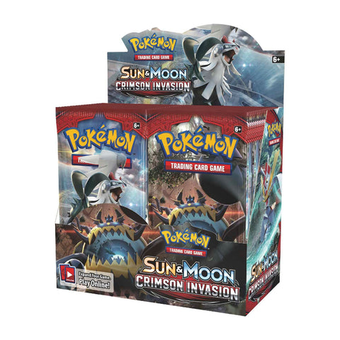 SM4 Crimson Invasion Expansion Booster