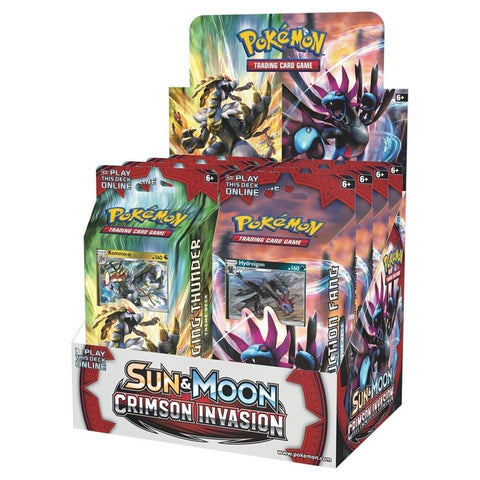 SM4 Crimson Invasion Expansion Theme Deck