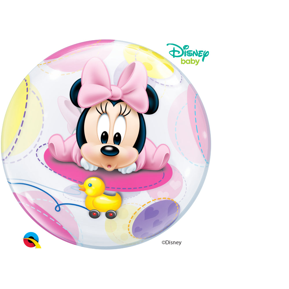Baby Minnie 22in Single Bubble 1Ct