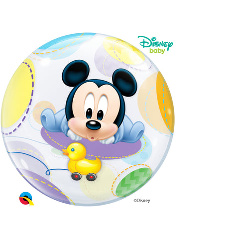 Baby Mickey 22in Single Bubble 1Ct