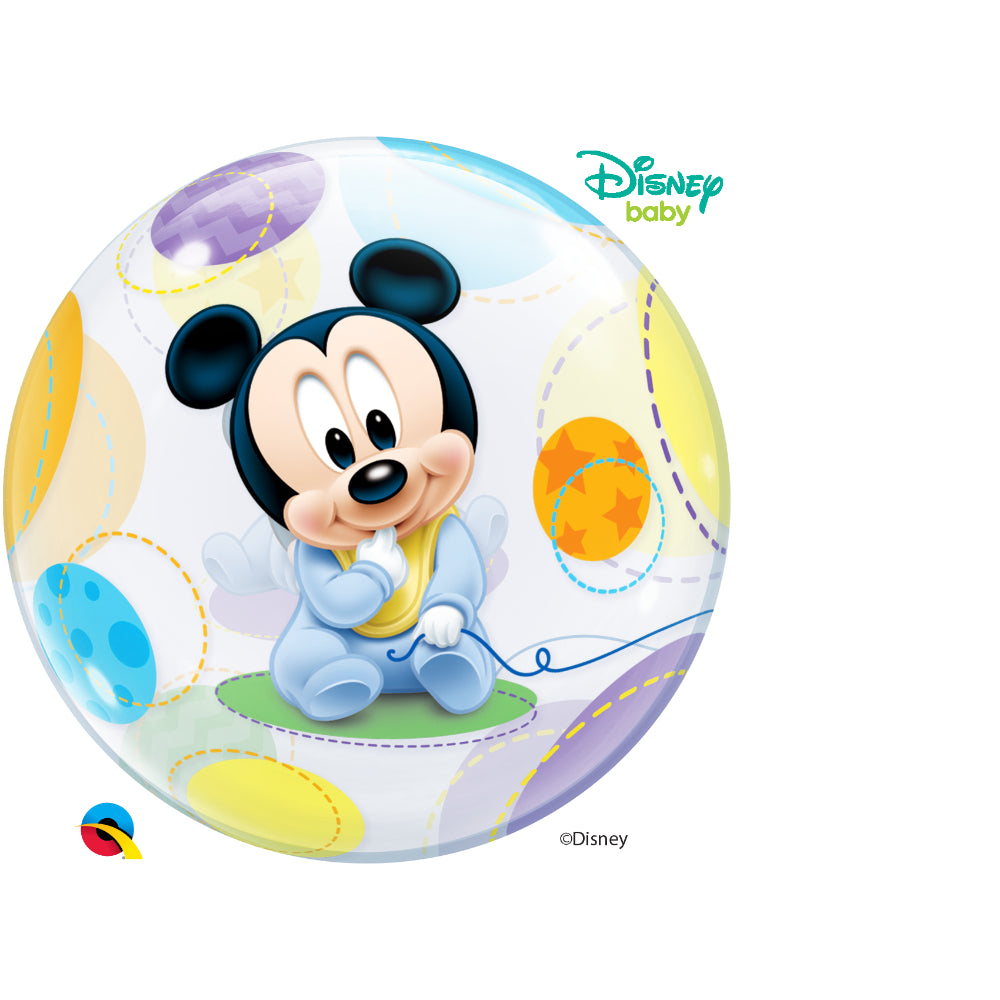Baby Mickey Single Bubble