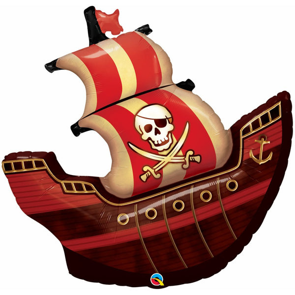 Ship Pirate Ship Foil Balloon