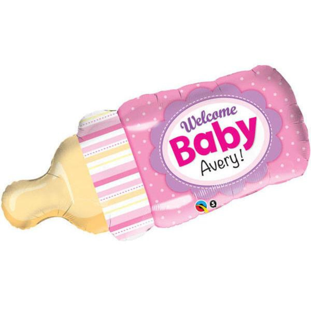 Welcome Baby Bottle Foil Balloon
