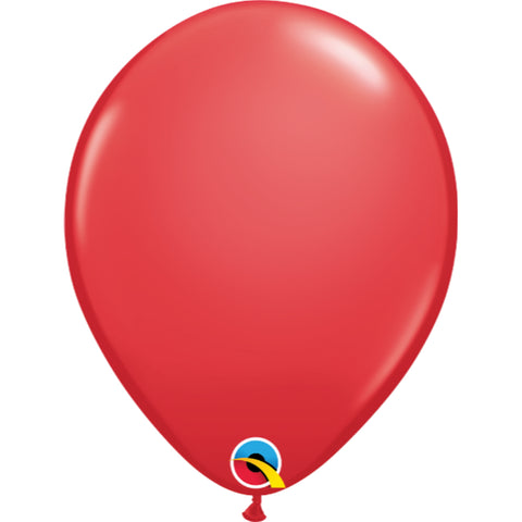 11  inch   Red  Latex Balloons