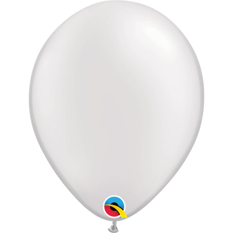 11  inch   Pearl White  Latex Balloons
