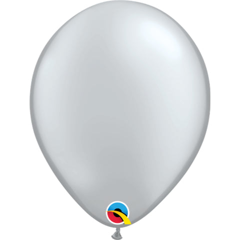 11  inch   Silver  Latex Balloons
