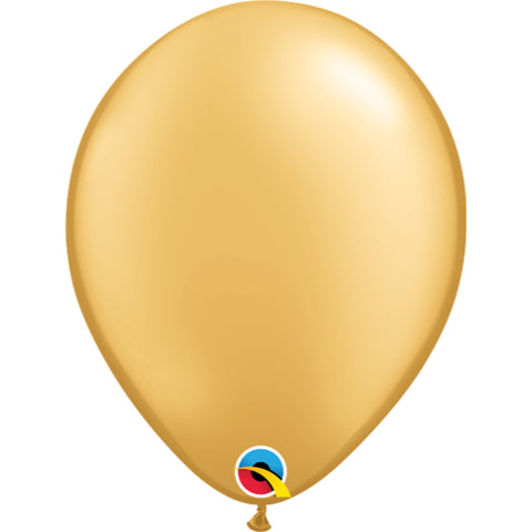 11  inch   Gold  Latex Balloons