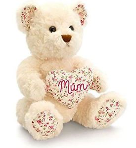 Belle Rose Bear W/Mum Heart