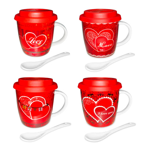Valentine Mug With Spoon