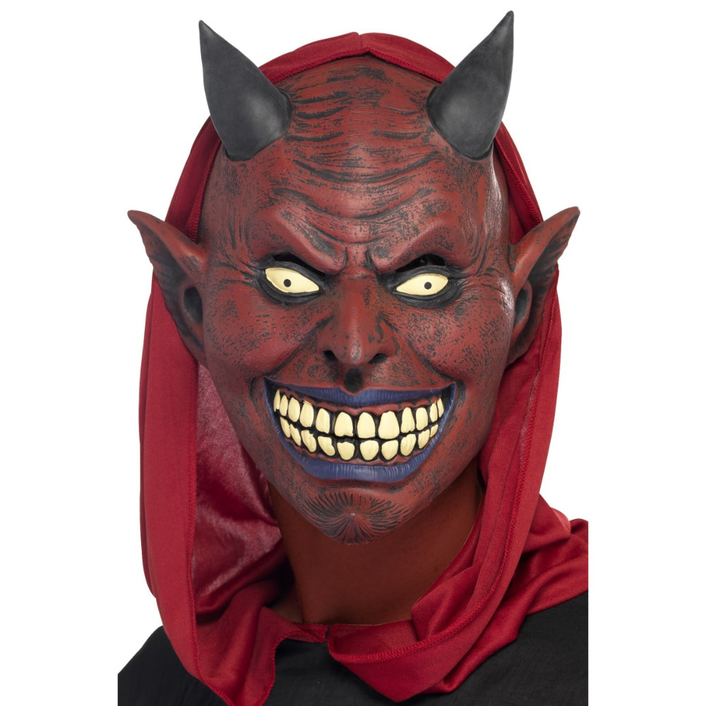 Demon Devil Full Overhead Mask Latex