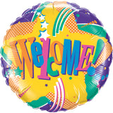 Welcome! Foil Balloon