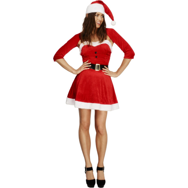 Fever Santa Babe Female Costume M