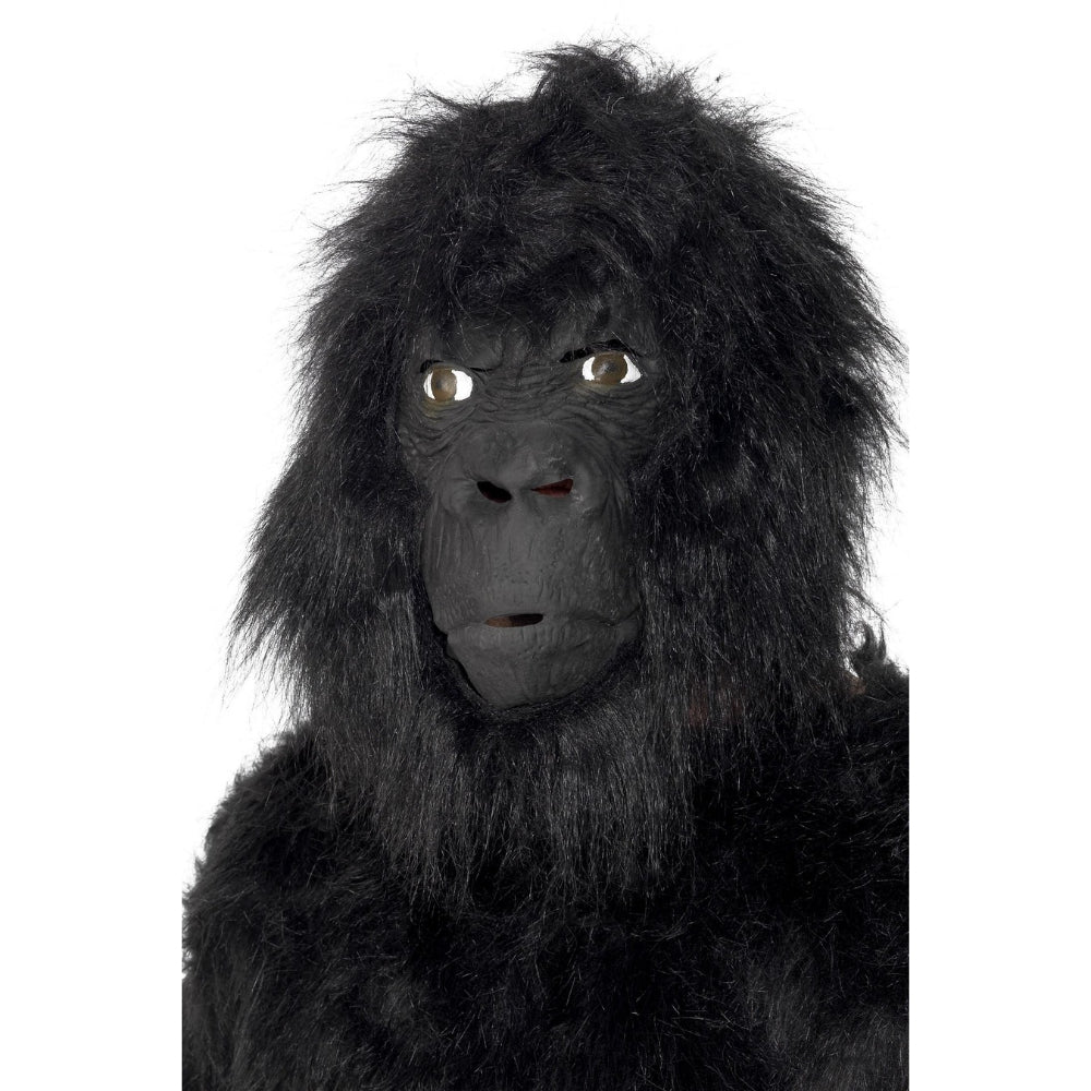 Gorilla Mask With Hair