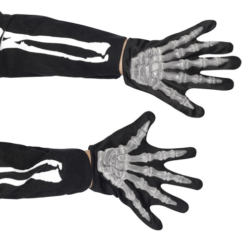 Skeleton Gloves Child