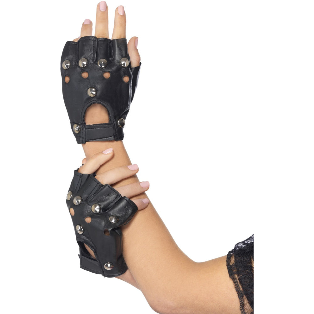 Punk Gloves Black