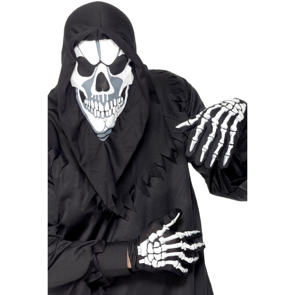 Skeleton Instant Kit With Hood & Gloves