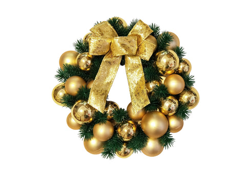 Gold Decorated Wreath