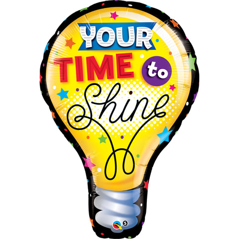 Your Time To Shine Foil Balloon Super Shp