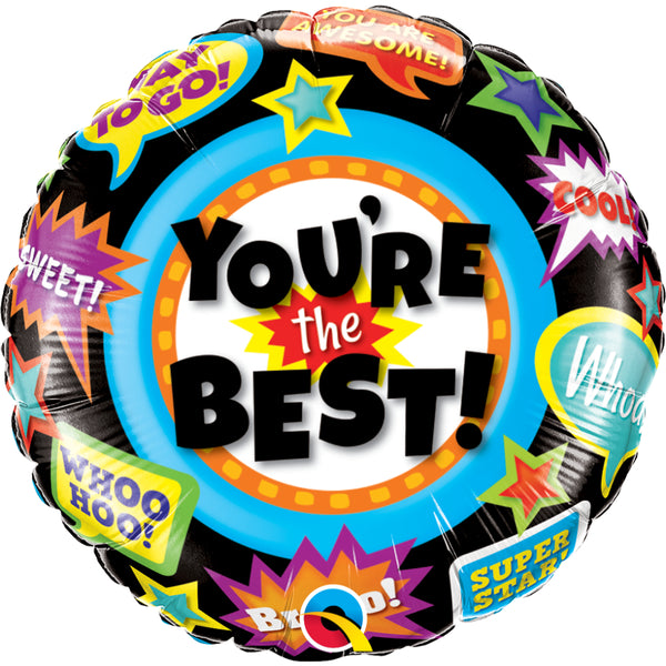 You Are The Best Aooolades  Foil Balloon