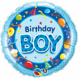 Birthday Boy   Round Foil Balloon