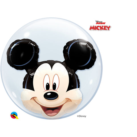 Mickey Mouse 24in Double Bubble 1Ct