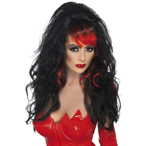 Seductress Black F Wig