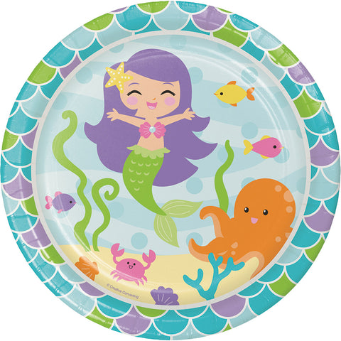 Mermaid Friends Dinner Plates