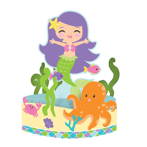 Mermaid Friends Centerpiece Honeycomb With Attachement
