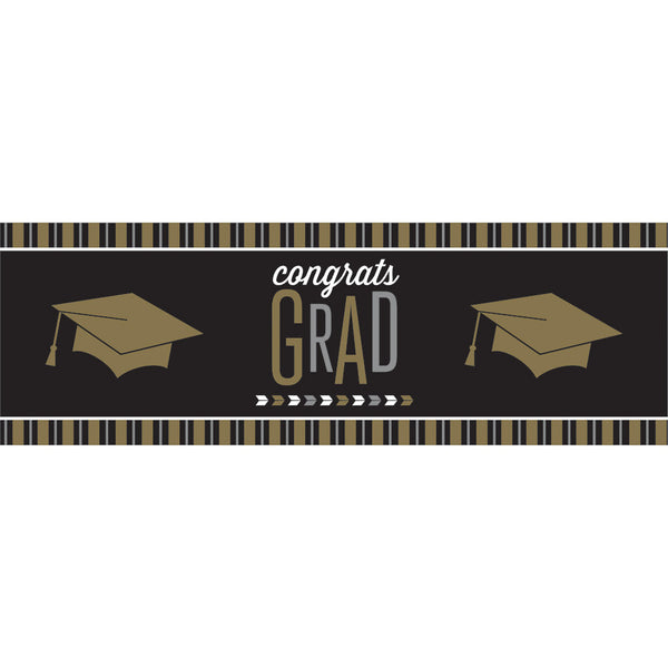 Glitzy Grad Giant Party Banner