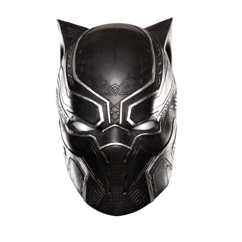 Full Vinyl Kids Black Panther Mask Child