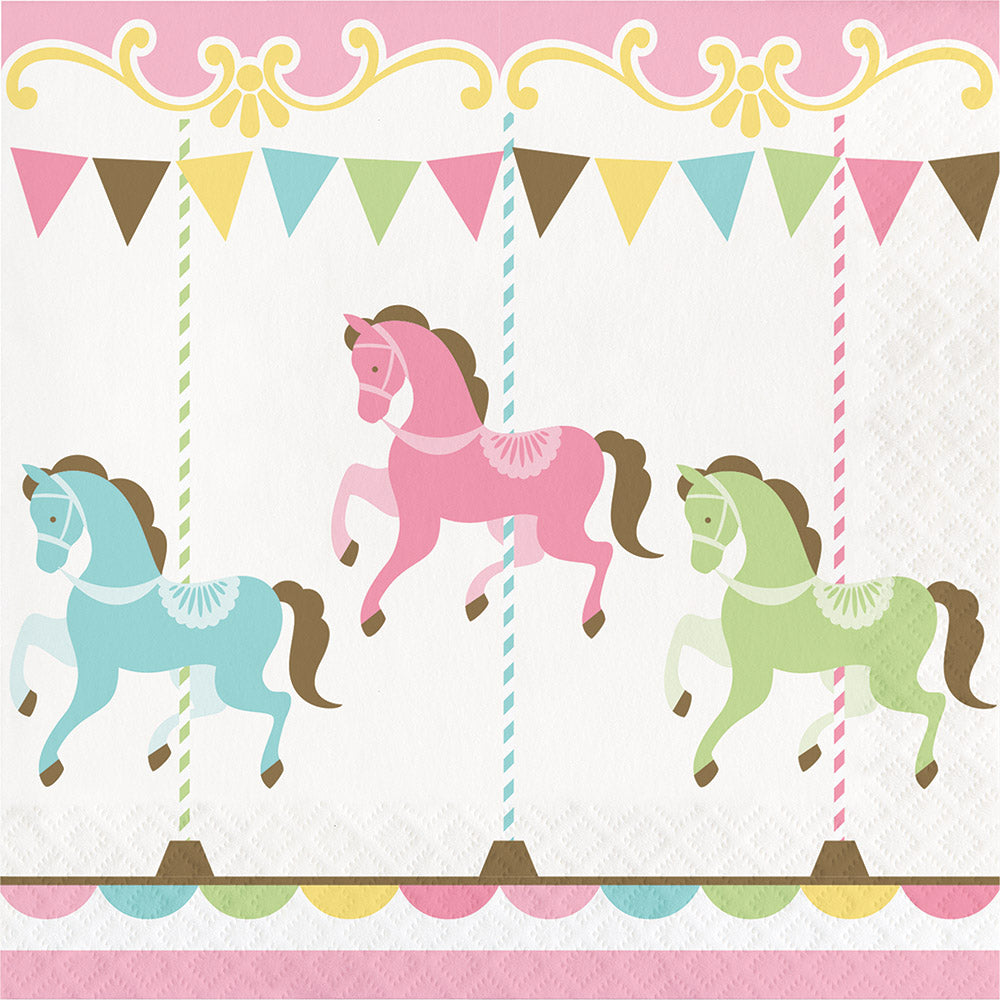 Carousel Lunch Napkins