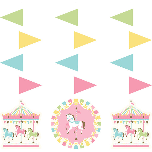 Carousel Hanging Cut out