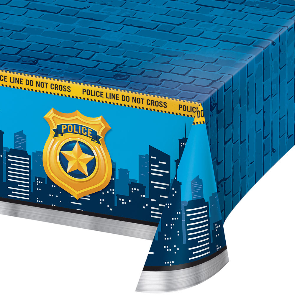 Police Party Tablecover All Orver Print