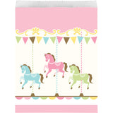 Carousel Paper Treat Bag