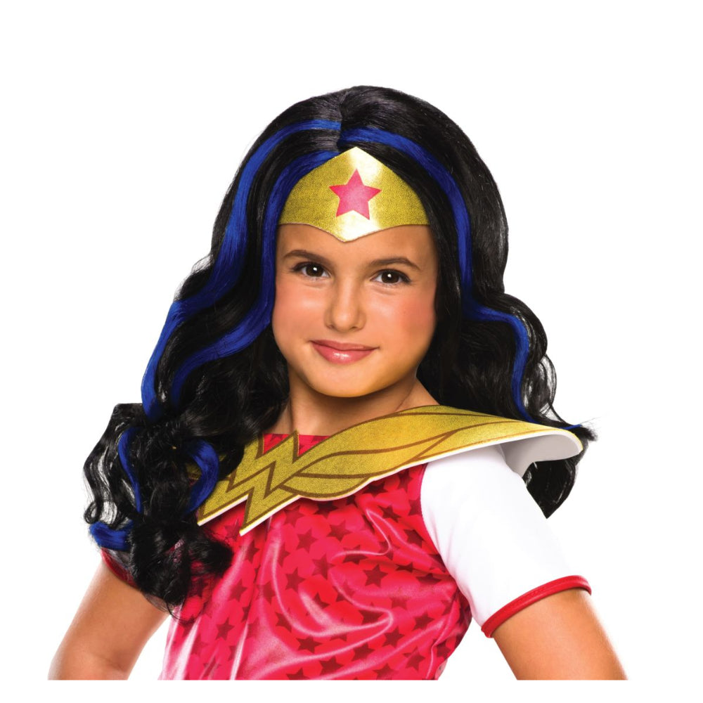 Wonder Woman Girl Wig