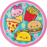 Junk Food Fun Lunch Plate