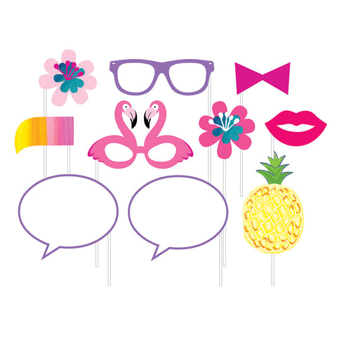 Pineapple N Friends Photo Booth Props