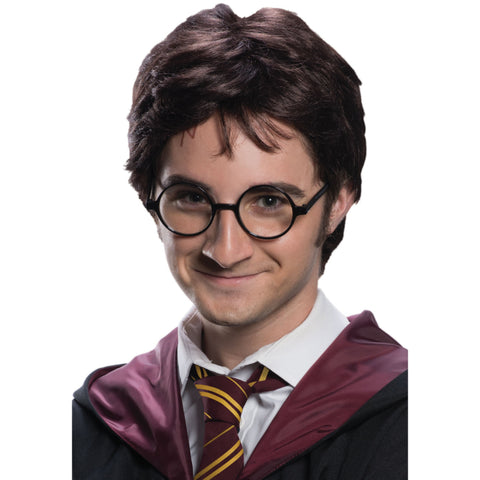 Harry Potter Adult Wig & Tattoo