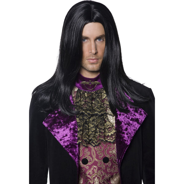 Gothic Count Wig Long Straight