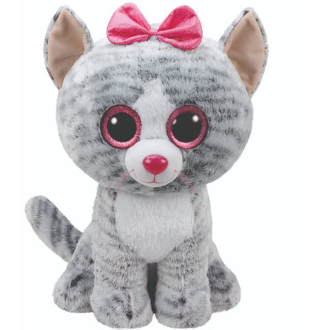 Beanie Boos Cat Kiki Grey