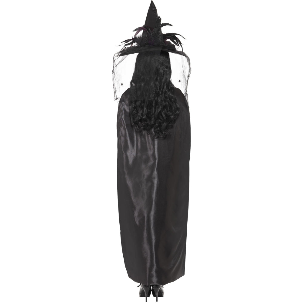 Deluxe Witches Cape Black