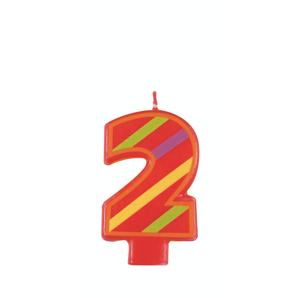 Numeral Birthday Candle 2