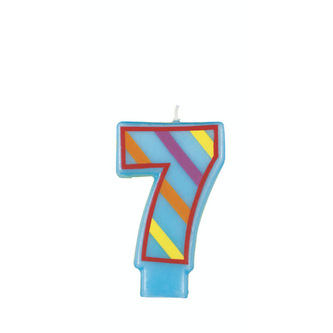 Numeral Birthday Candle 7