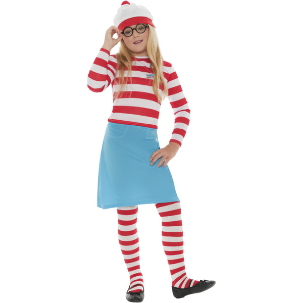 Wheres Wally Wenda Girl Costume